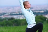 Open Air Yoga in Grinzing